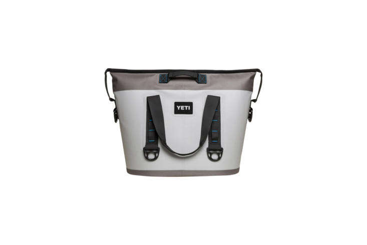 Popular for their hard shell coolers, Yeti also makes the newer Hooper Two 30 Cooler with a &#8\2\20;DryHide&#8\2\2\1; exterior (high-density waterproof, mildew-proof, and puncture-proof fabric) and &#8\2\20;ColdCell&#8\2\2\1; insulation (closed-cell rubber foam with more cold-holding potential than other soft coolers) in the interior. It&#8\2\17;s available in two color combinations of Fog Gray/Tahoe Blue (shown) and Field Tan/Blaze Orange for \$\299.99 at Yeti. It&#8\2\17;s also available for \$300 at REI.