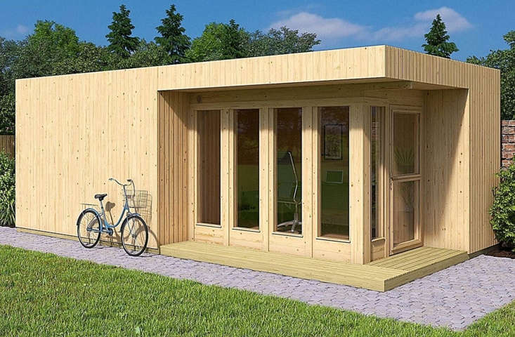 We found a few other tiny homes by Allwood that we like as well, including the Arlanda XXL Garden House Kit. At \273 square feet, it&#8\2\17;s larger than the Solvalla. (Many of Allwood&#8\2\17;s product names are Scandi-inspired, perhaps as a nod to the company&#8\2\17;s Finnish founder.) The Arlanda is \$\10,695.00.