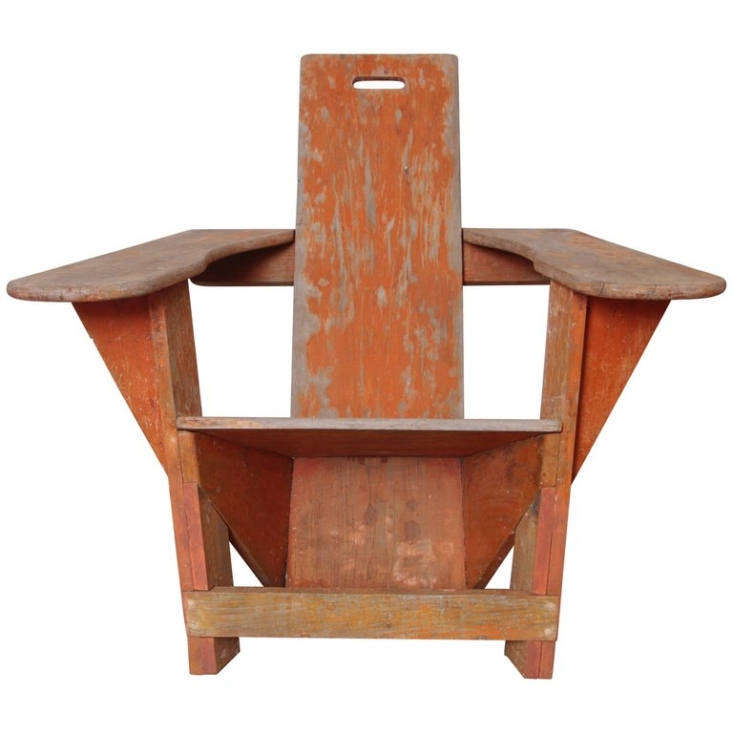 A stamped original basswood Westport Chair manufactured by Bunnell is going for \$\16,000 on \1st Dibs.