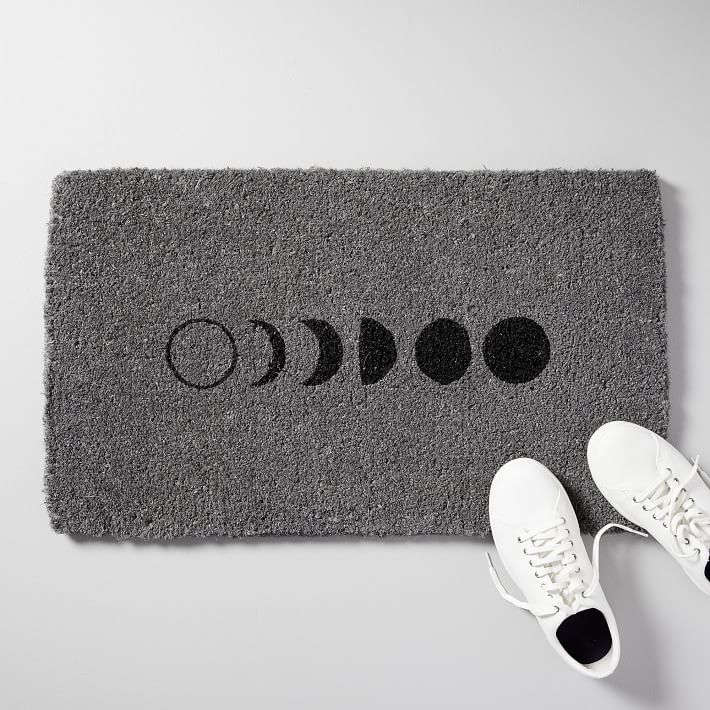 The Moon Phase Doormat is currently on sale for \$\2\1.