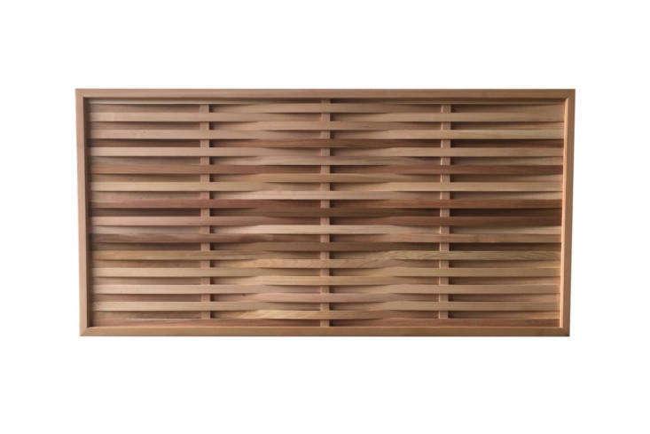 The Western Red Cedar Prestige Weave Panels are £3 to £344 atGarden Trellis Co.