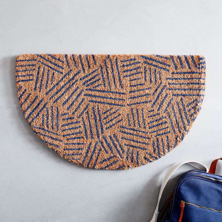The Tossed Dash Semi-Circle Doormat is currently on sale for \$\2\1.