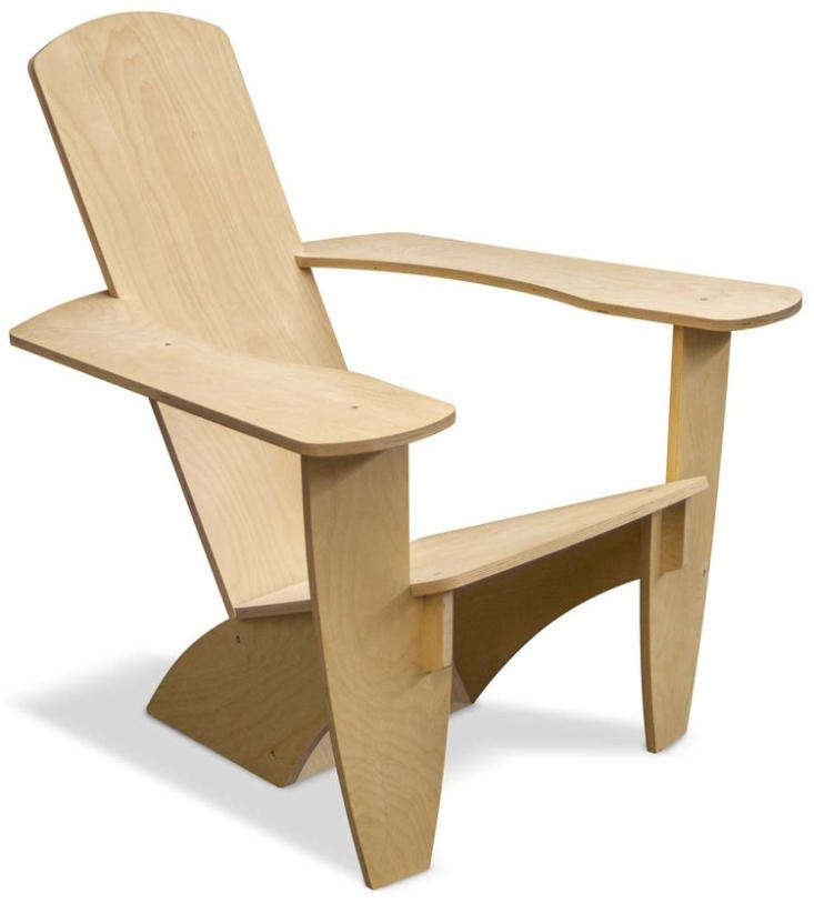 For just \$\150, Talic&#8\2\16;s Westport chair can be yours. It&#8\2\17;s made of untreated Baltic birch and needs to be assembled (and sealed if you want to use it outdoors).