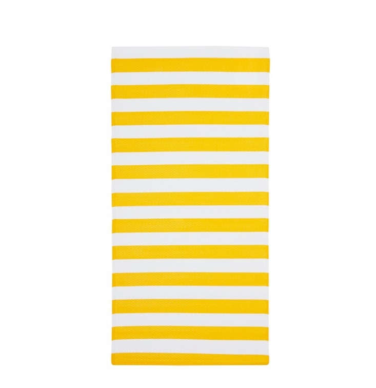 The SOMMAR striped runner measures 30 by 59 inches and is just \$9.99.