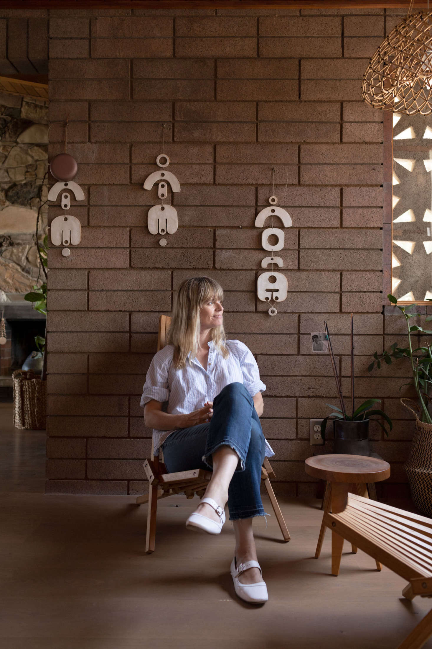 Photography by Ye Rin Mok, for Creative Spaces, from Wild at Heart: Ceramicist Tracy Wilkinson's Off-the-Beaten-Path Sanctuary.