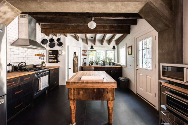 Margaux and Walter Kent of Peg and Awl are experts at crafting new things from old things. Check out the results when they applied their salvage-focused philosophy to their kitchen. Photograph courtesy of Peg and Awl, from Kitchen of the Week: A Frankensteined Historic House—Turned Guest Rental—in Philadelphia's Fishtown, Before and After.