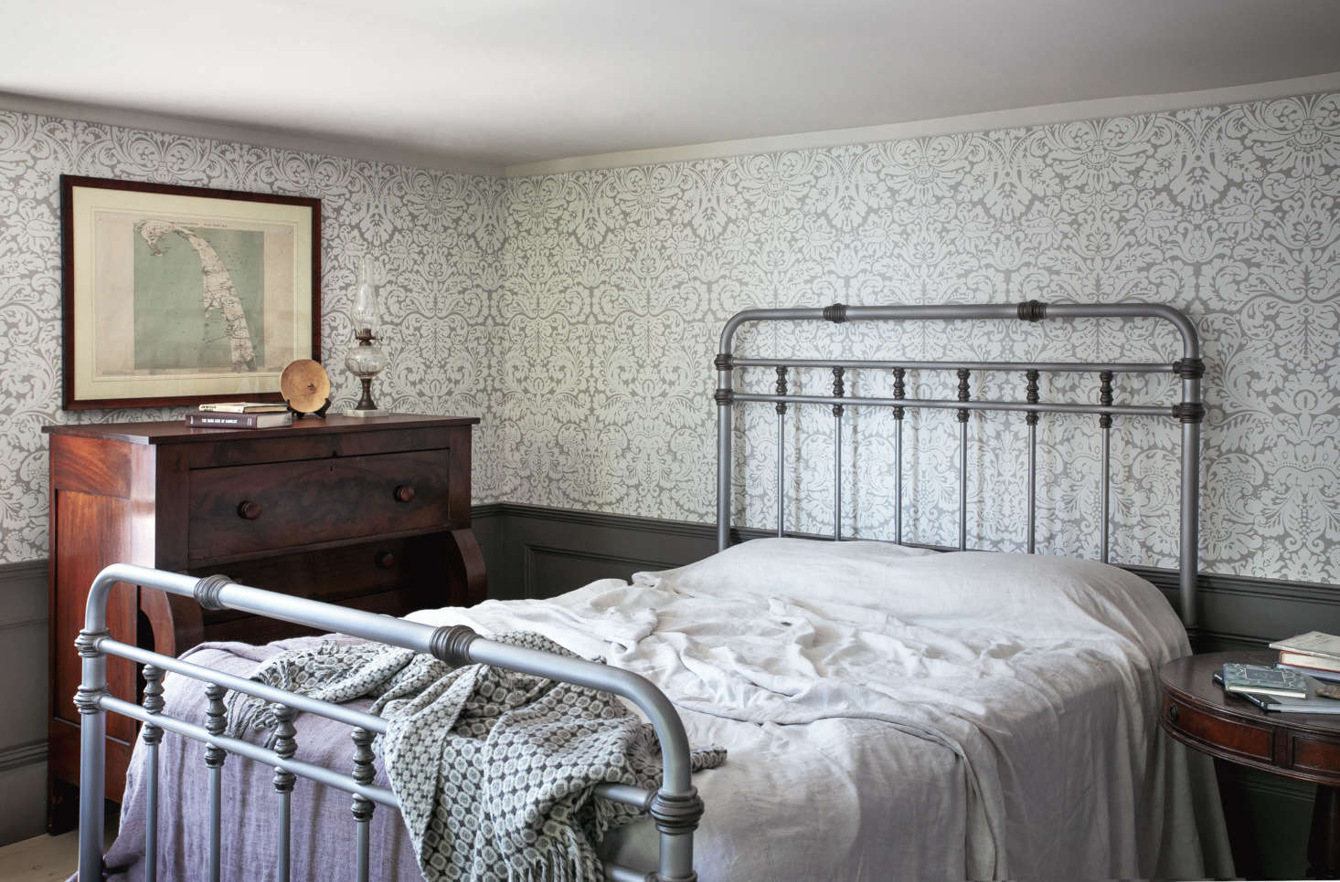 Rumpled in the best way. Photograph by Justine Hand, fromA Legendary Provincetown Artist's Home, Updated for Modern Life.