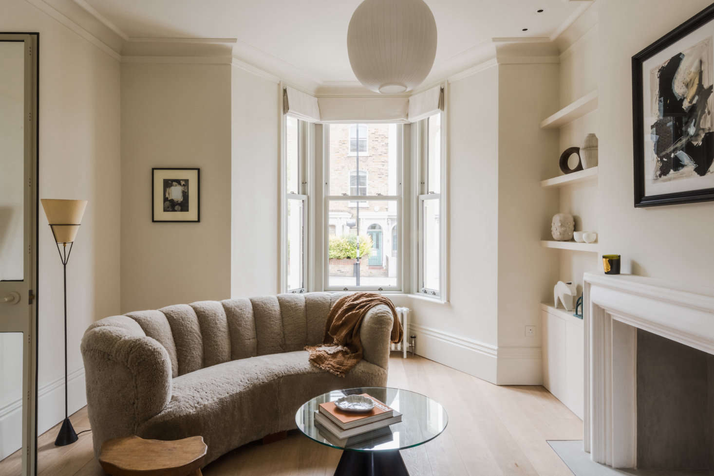 Curious what a home designed by an architect, decorator, and lighting designers looks like? See A Tale of Two Styles: Proper Victorian on the Outside, Modern Zen on the Inside. Photograph courtesy of The Modern House.