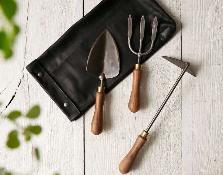 For the master gardener with the highest standards, a trio of hand-forged Titanium Hand Tools from heritage tool maker Sneeboer; $698 at Terrain.