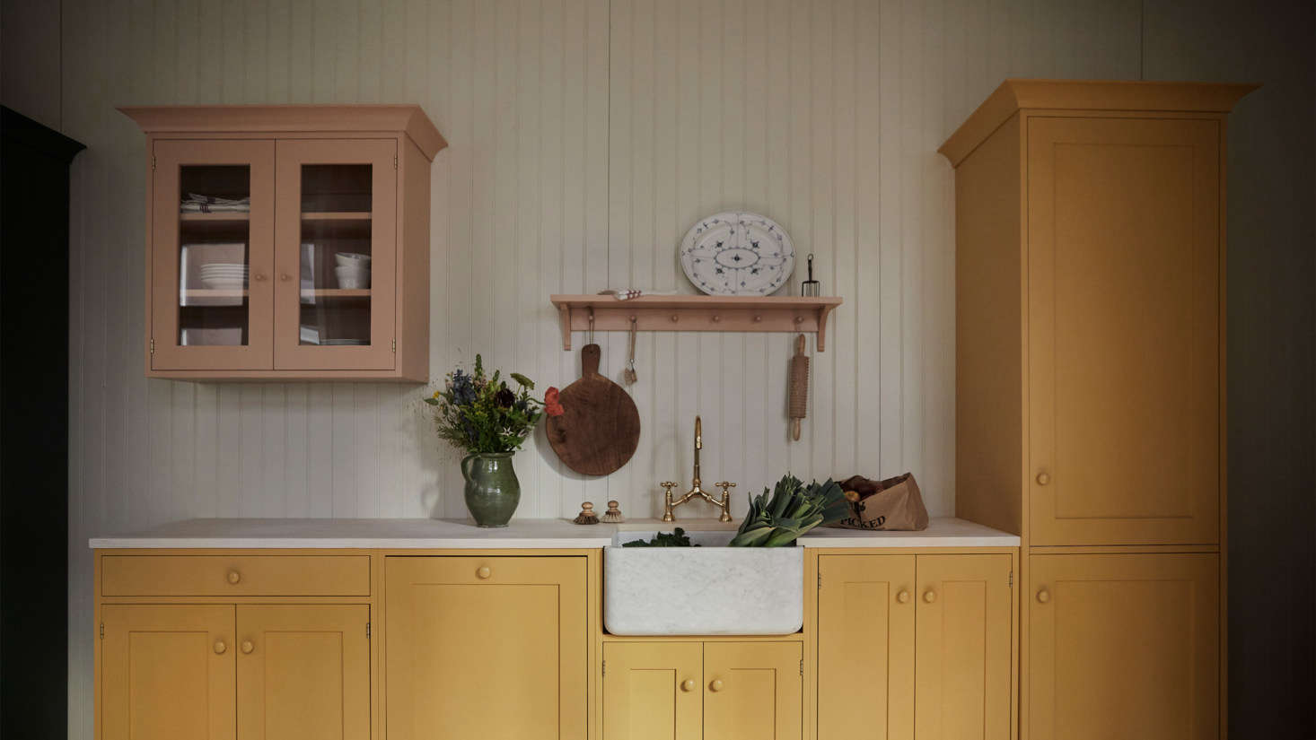 Julie discovered a lovely Easter-ready kitchen by a new-to-us Swedish kitchen maker. See Kitchen of the Week: A Pastel Kitchen Inspired by Swedish Artist Carl Larsson.