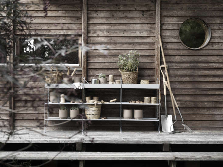 Go to String Furniture to peruse versions of the shelves put to use all over the house, and to use the company&#8\2\17;s Plan Your String System tool. Also see our post: The Classic String Swedish Kitchen.