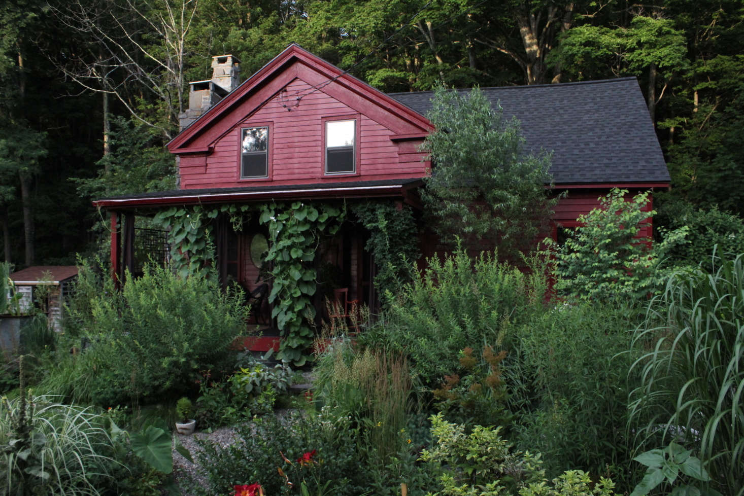 When their little farmhouse came on the market in , they found the perfect reason to escape New York City. Back then, &#8