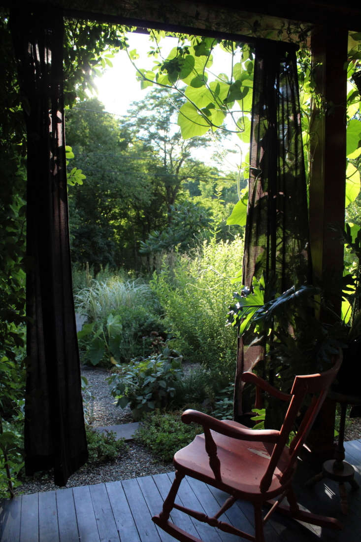 &#8\2\20;We wanted to create a sense of envelopment when we&#8\2\17;re on the porch, our own little jungle that we get to enjoy,&#8\2\2\1; shares Carter.