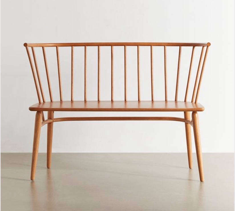 A midcentury-esque Shaker-style bench at a reasonable price point? Yes, please. See High/Low: The Two-Seater Windsor-Style Bench.