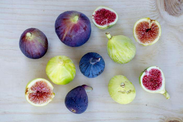 A sampling of figs grown in the orchard of the University of California at Davis. Photograph by Marla Aufmuth for Gardenista, fromStalking the Wild Fig.