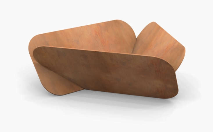 Let&#8\2\17;s start with the Rolls Royce of fire pits, shall we? Made in the USA from corten steel, the beautifully sculptural Petal Fire Pit by Plodes Studio is meant to rust and weather; \$\2,\200 at DWR.