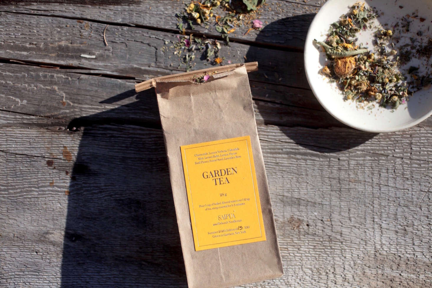 At the intersection of gardening and tea drinking is Garden Tea: The tea &#8