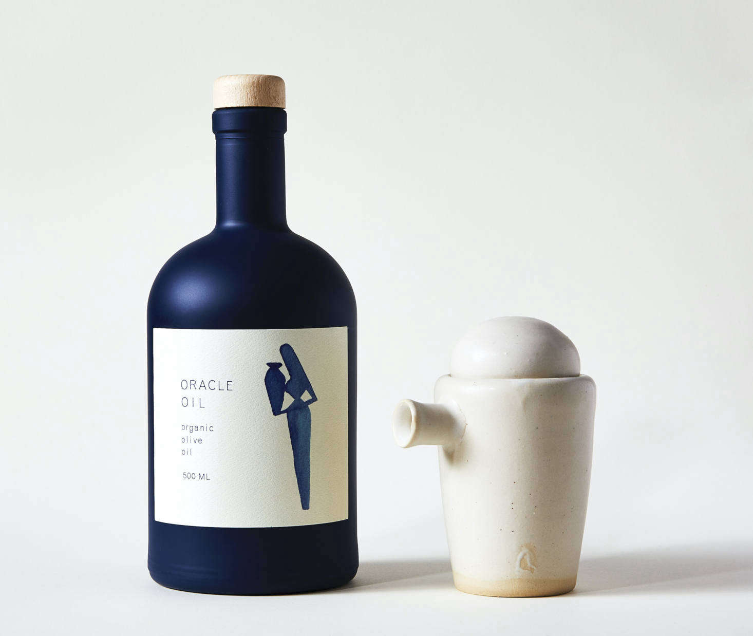 From Remodelista Gift Guide :  Surprises for the Eco-Minded Aesthete: The koroneiki olives used to make Oracle Oil's extra-virgin olive oil come from a collective of farms in Laconia, Greece, including one belonging to the family of Oracle's founder, Cristiana Sadigianis. A .9-ounce bottle is $40 and comes with illustrated Greek recipe cards.