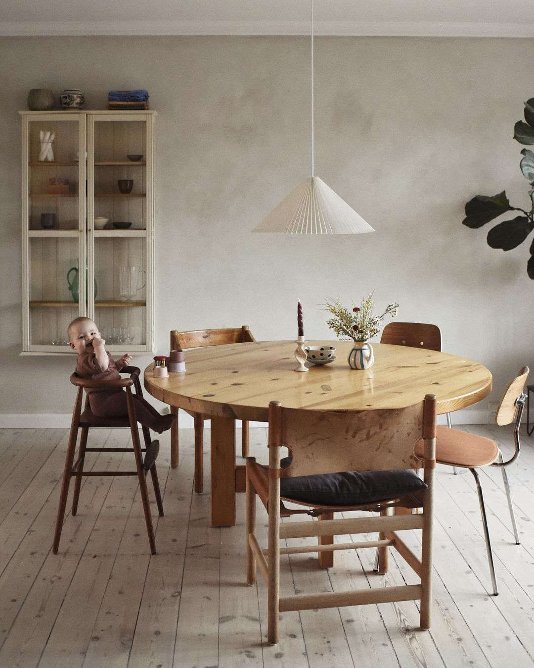 Everything old is new again, especially when the vintage pieces are as expertly curated as they are in this Copenhagen home. Photograph courtesy of Johanne Landbo and @femte.til.venstre, from Femte Til Venstre: A Danish Couple's Thoughtfully Appointed  Townhouse in Copenhagen.
