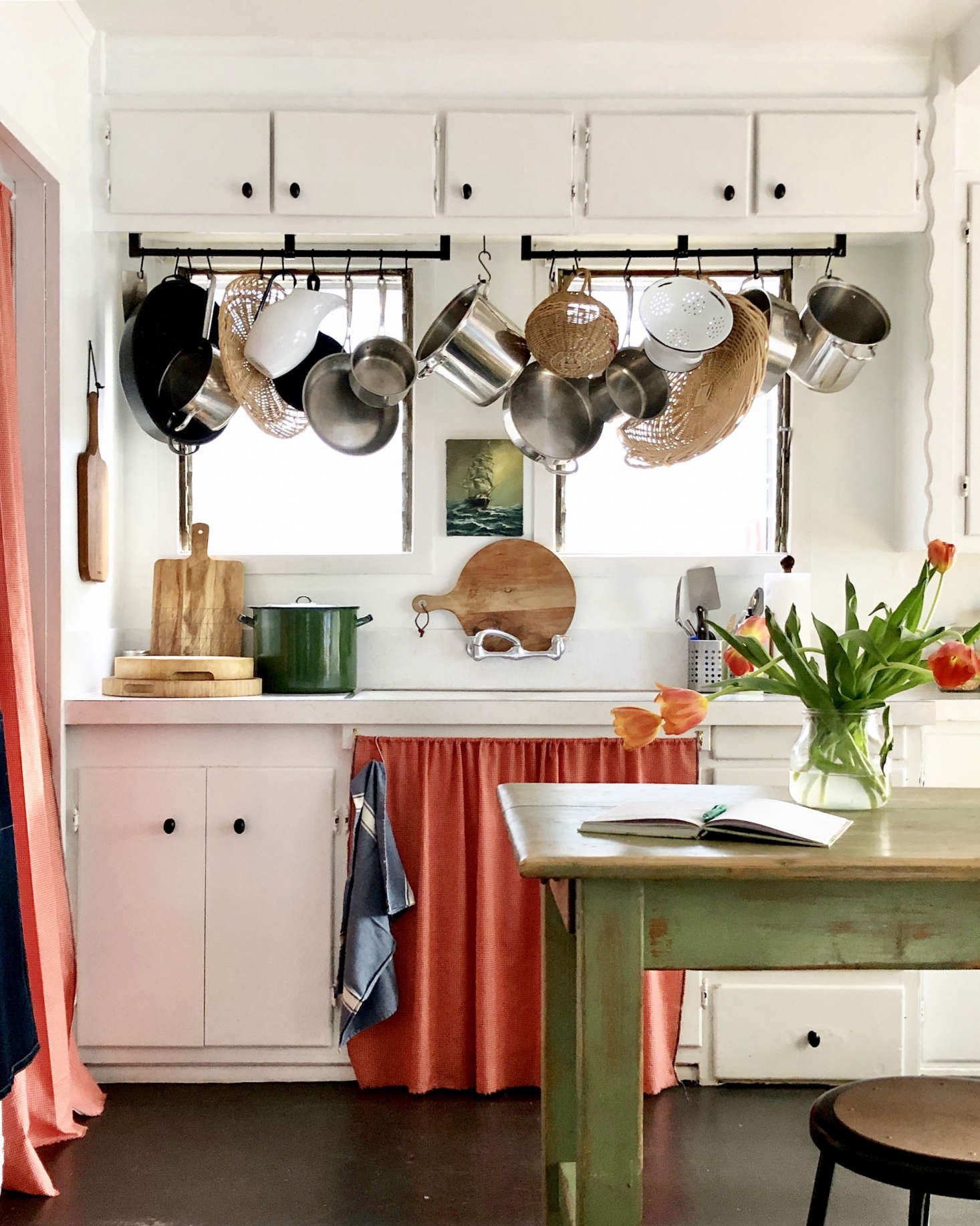 What happens when an Irish lass makes a home in Southern California? See the bright and charm-filled results in My Life in Colour: 8 Lessons from Gillian Lawlee's Anti-Trendy LA Cottage. Photograph by Gillian Lawlee.