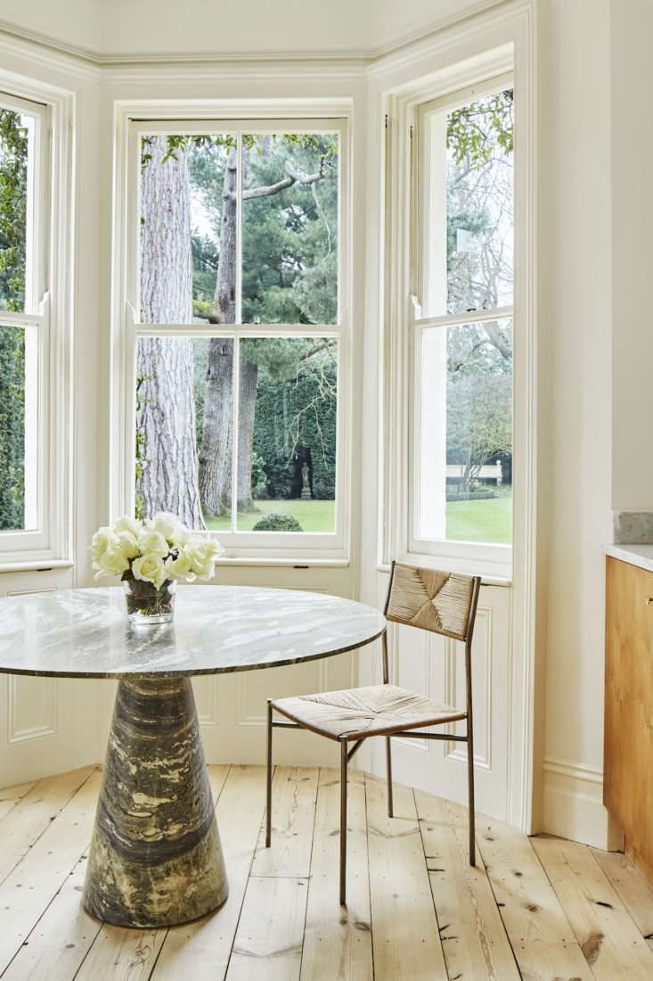 This marble table by Rose Uniacke is the homeowner&#8