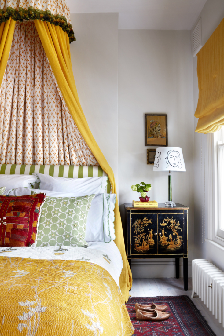 It&#8\2\17;s impossible not to be charmed by designer Lonika Chande&#8\2\17;s color-happy home. Photograph by Milo Brown, courtesy of Lonika Chande, from The Case for Cozy: Designer Lonika Chande's Family Cottage in West London.