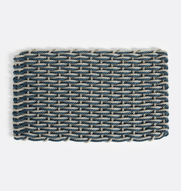 The Rope Co. Doormat comes in three colorways and is available at Rejuvenation; from \$99.