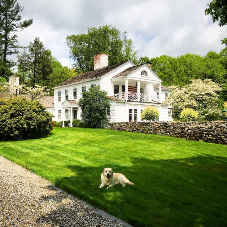 Michelle also picked the Quintessential Connecticut Country Property, which its owners call Davis Farm. She especially admired the way the &#8