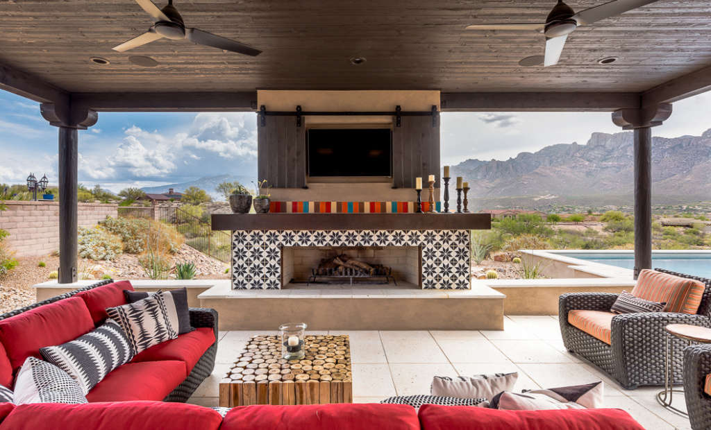 Outdoor Living in the Shade