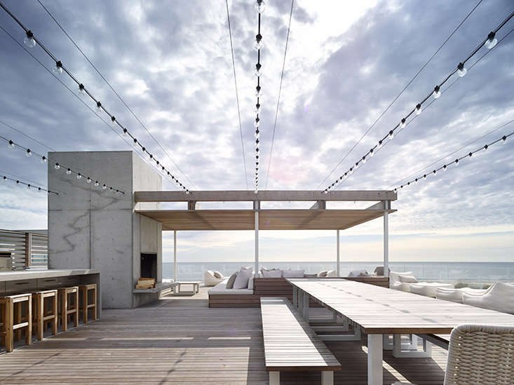 Roof deck with a view