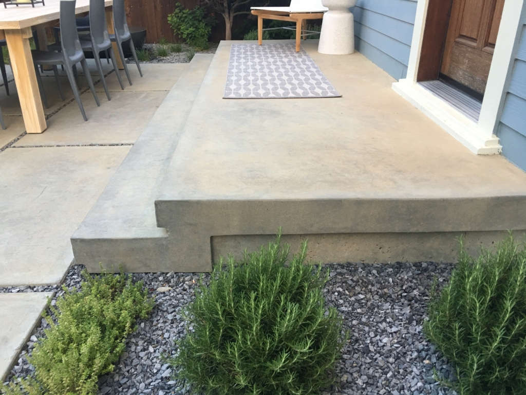 Concrete step detail