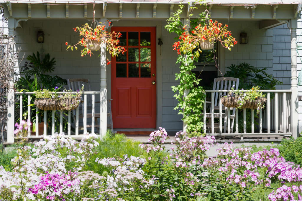 Front porch by Ren Nickson