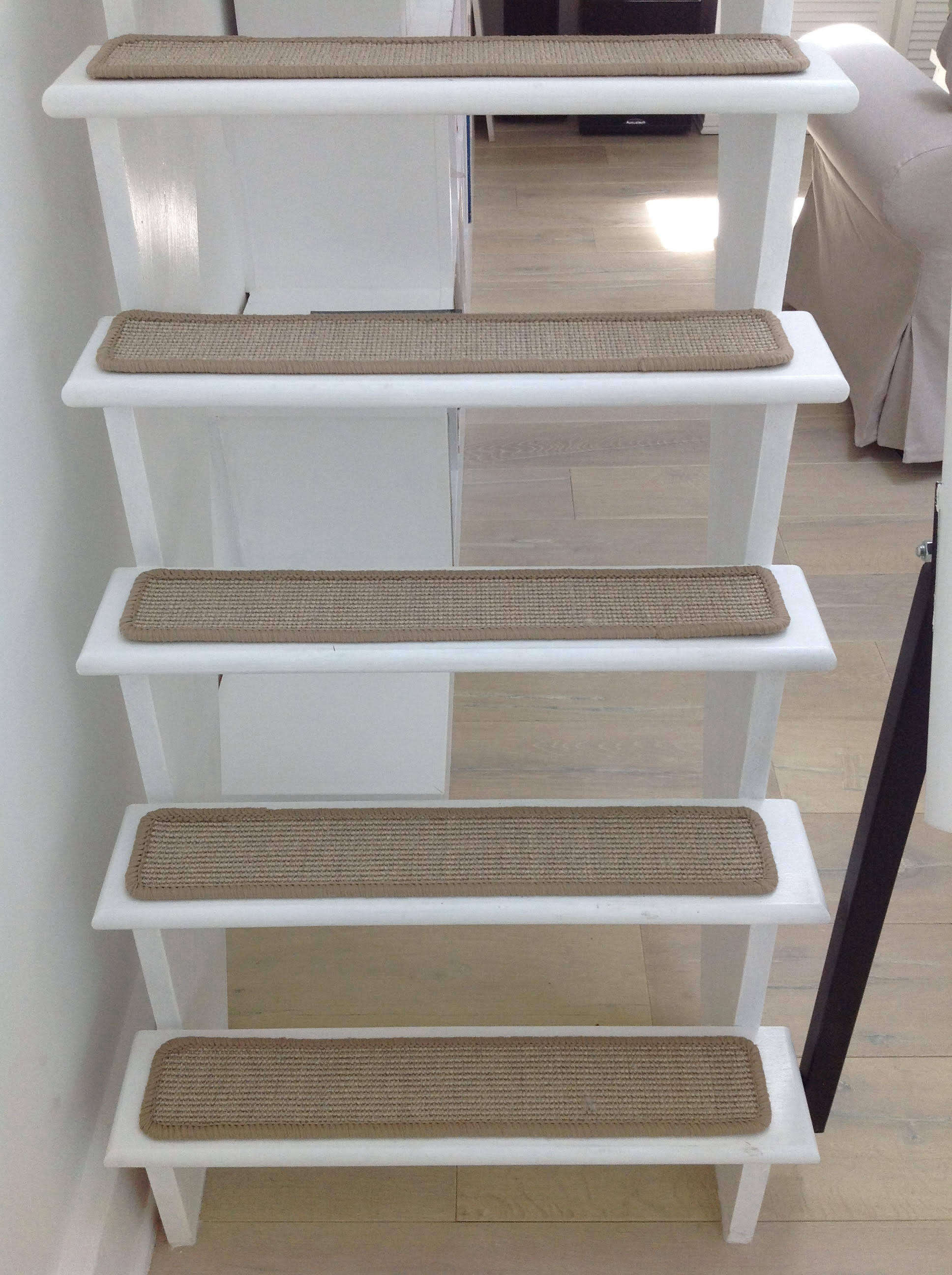 The stairway to the loft.