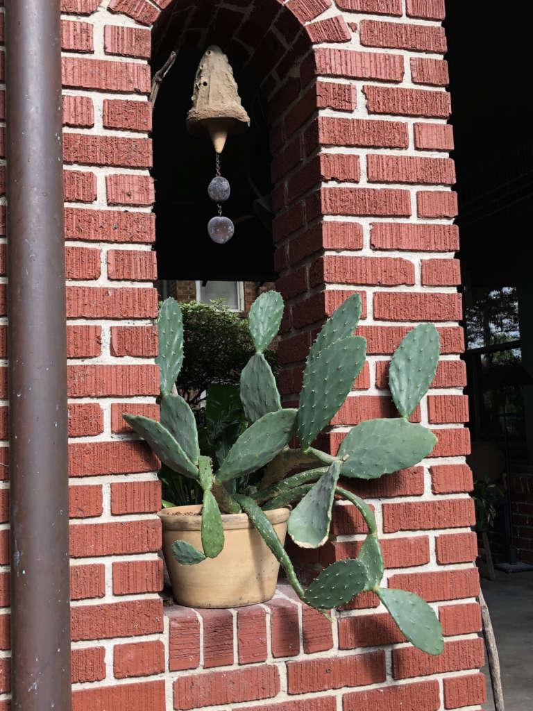 Porch column detail