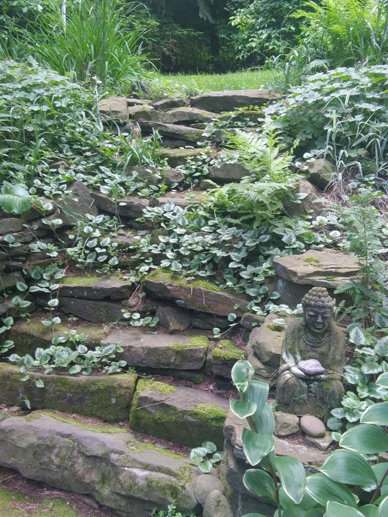 Fred Flinstone steps