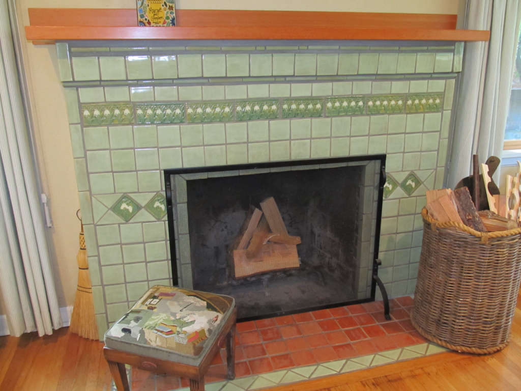 Snowdrop fireplace