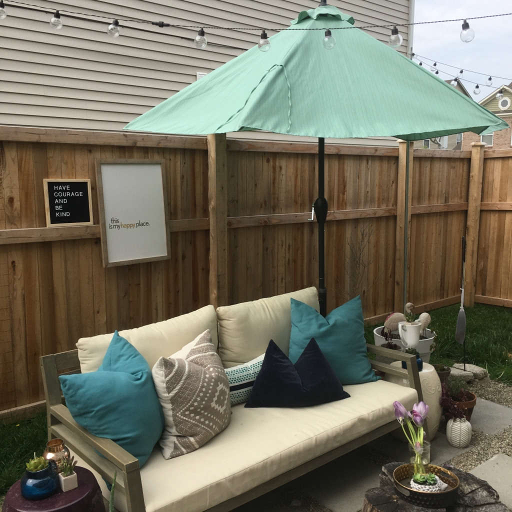 Cozy Small Outdoor Space