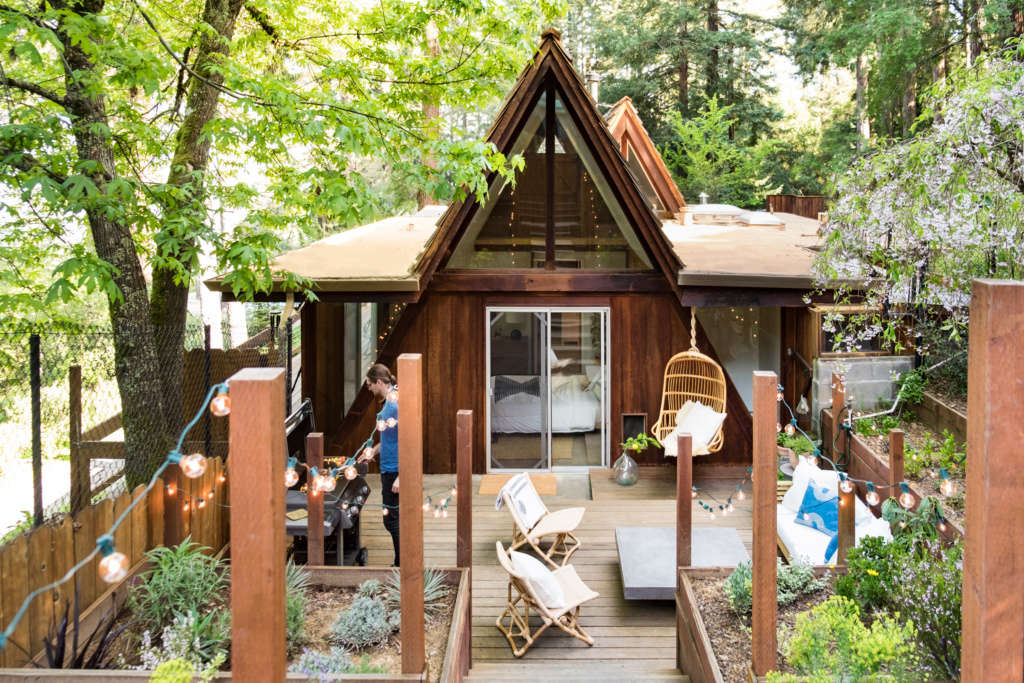 A-Frame Worthy Photo of Outdoor Living