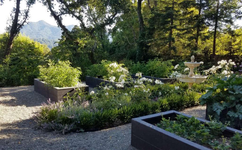 Edible Garden — With a View