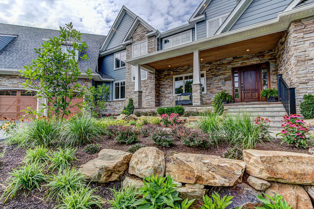 The curb appeal of this magnificent property is very stunning and breath taking.