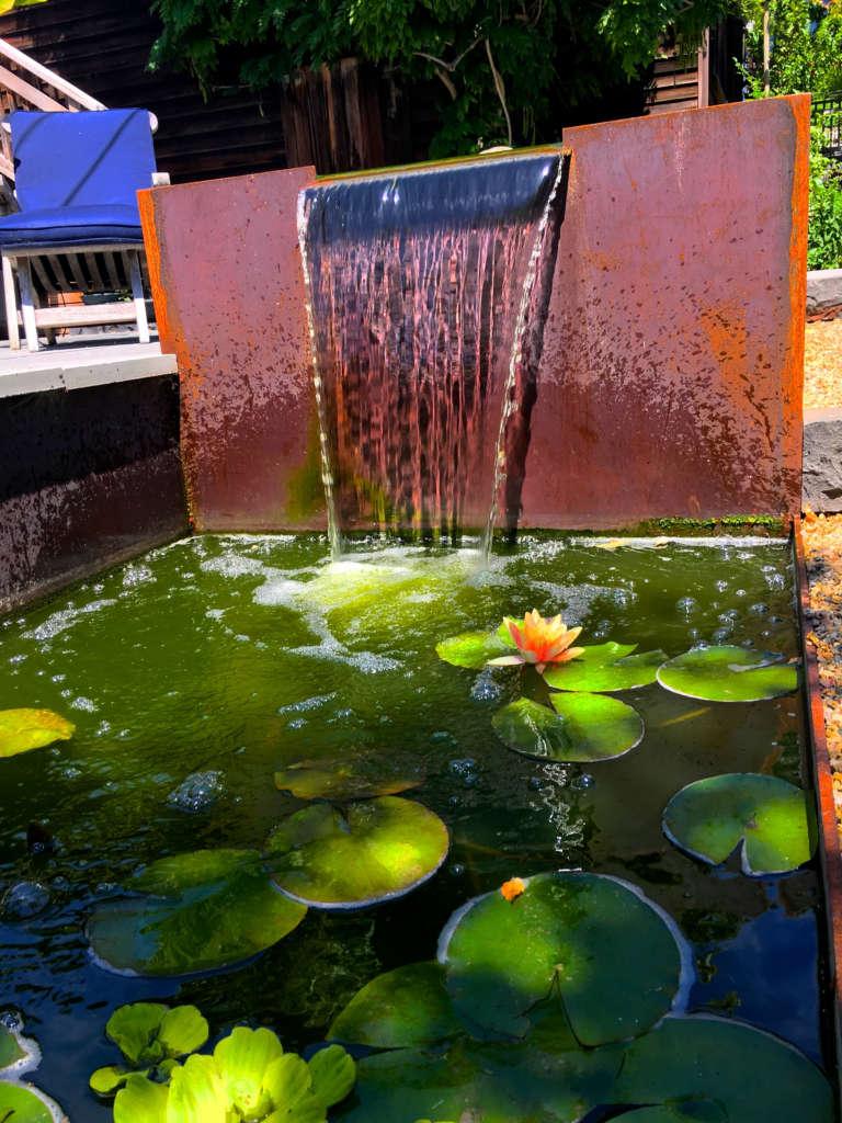 Corten Steel Fountain