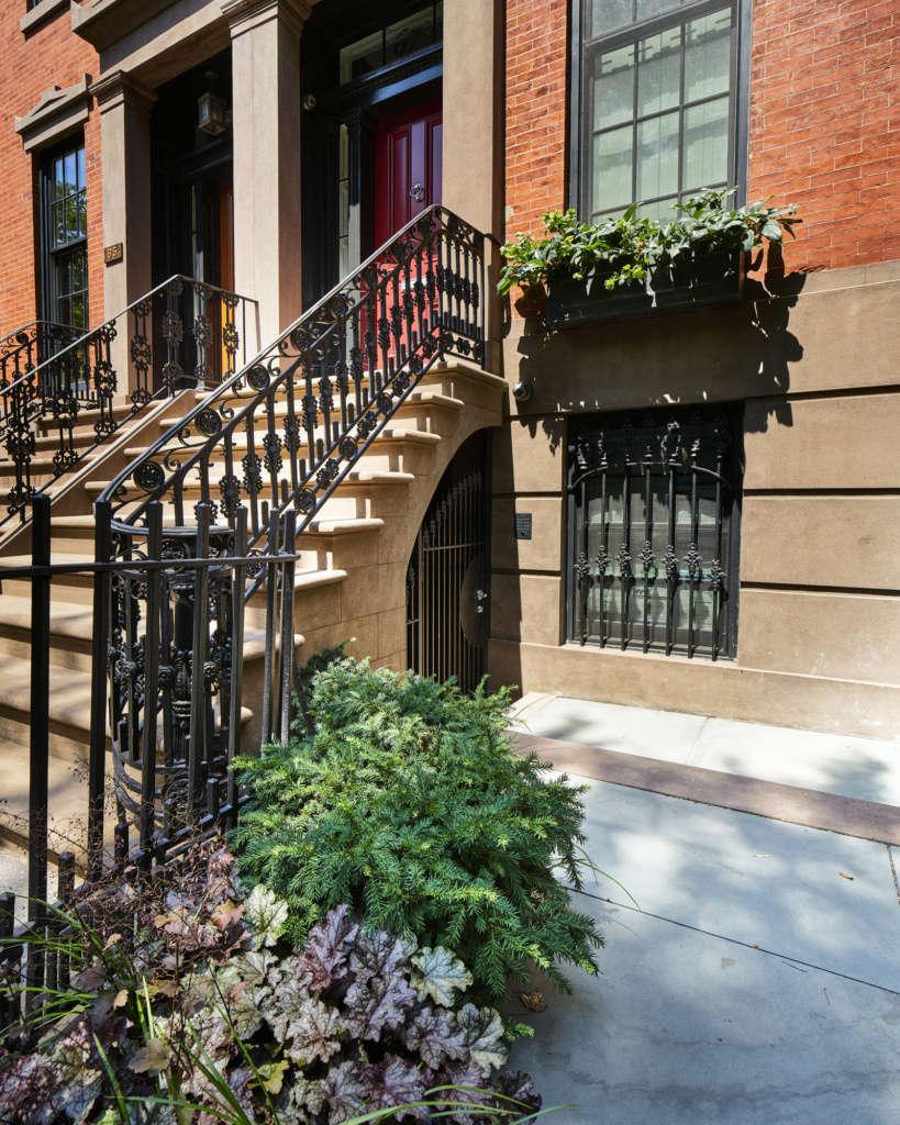 Garden-level Entry