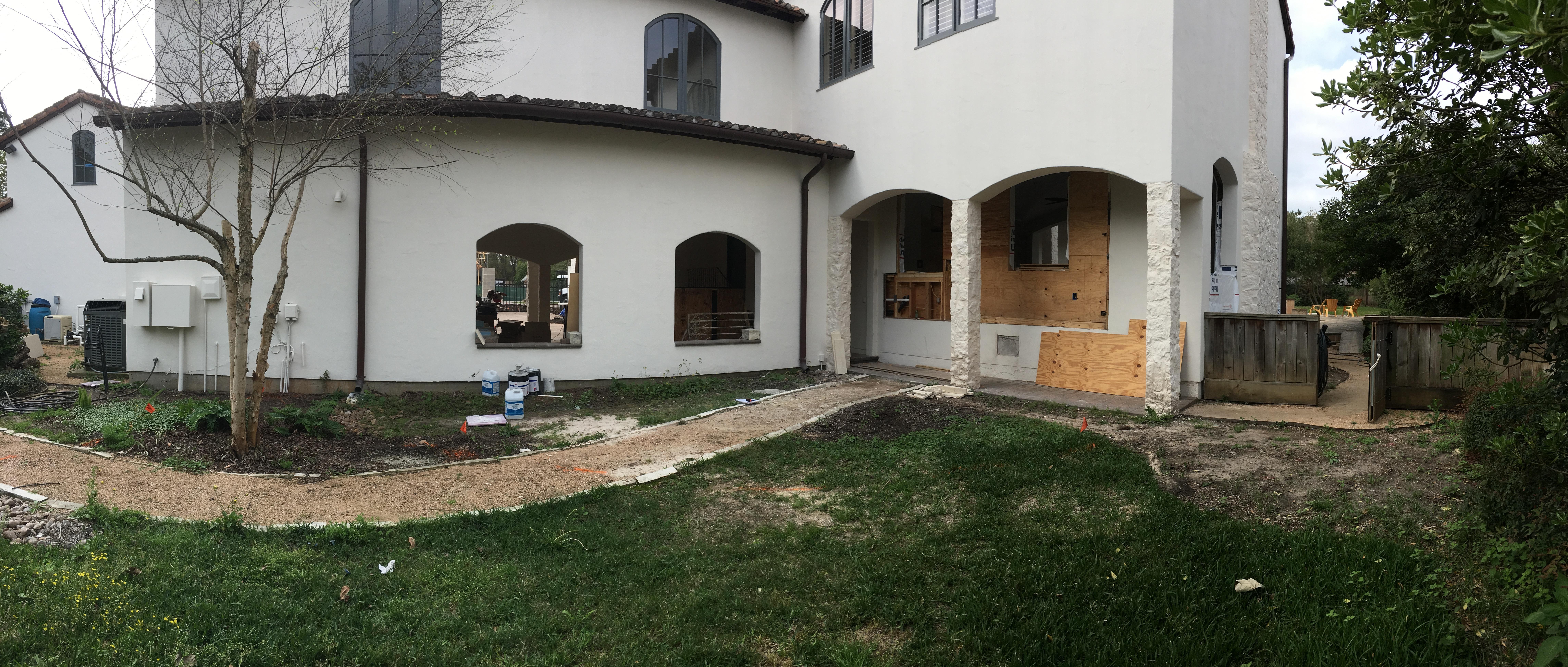 Before Kitchen Garden Design & Installation