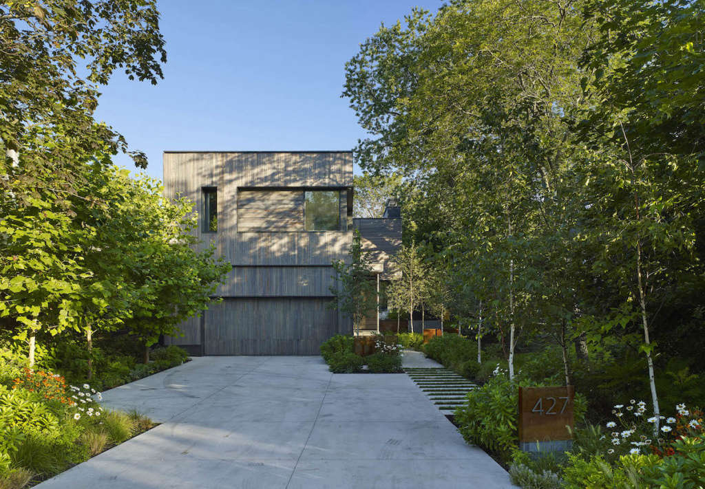 Fresh, bold aesthetic within a suburban neighbourhood