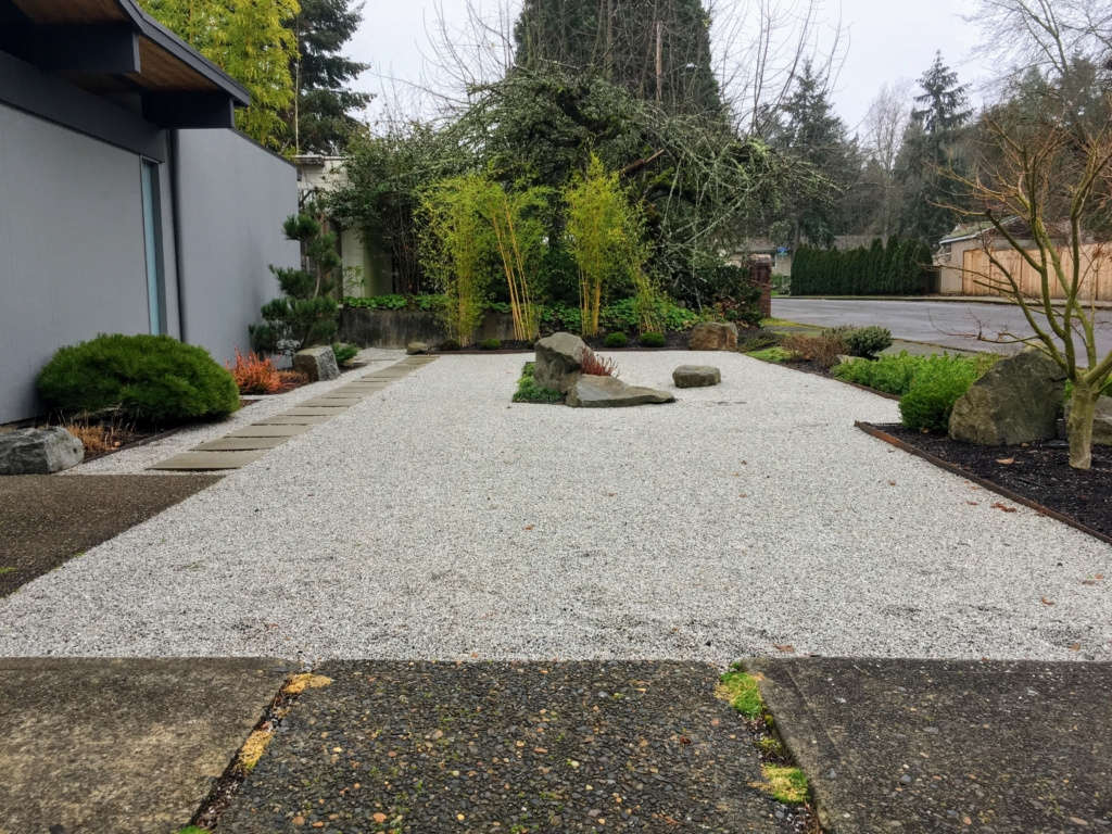 Granite Dry Garden