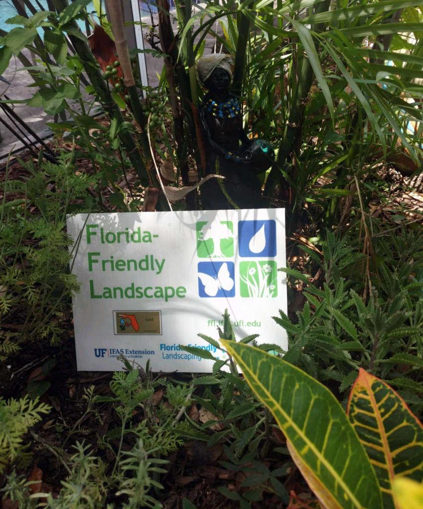 Florida- Friendly Landscape- Gold Seal Cerification