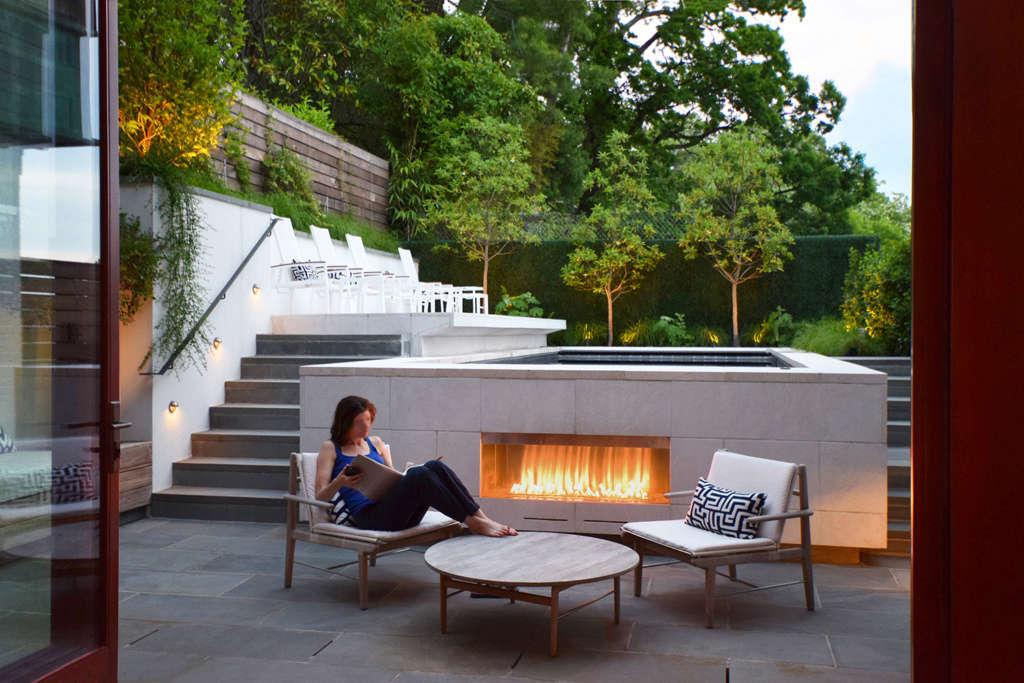 Fireside at Dusk