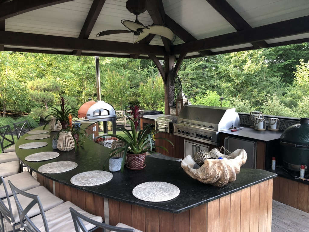 Custom Gazebo with Kitchen and Bar