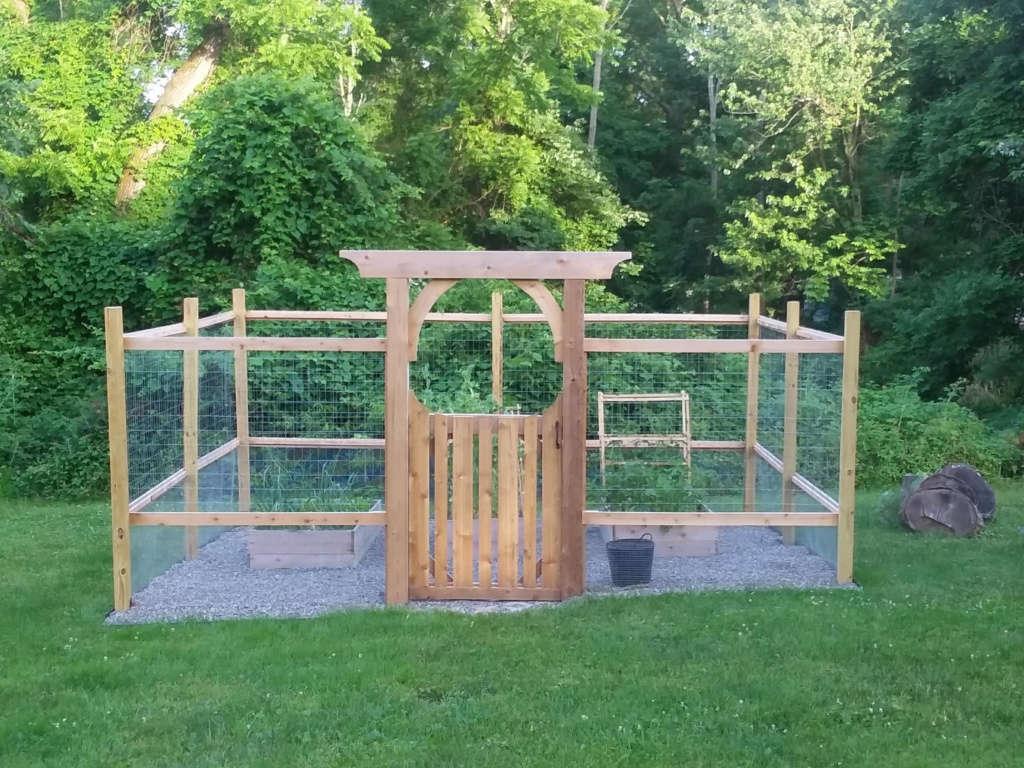 Critter proof raised bed veggie garden