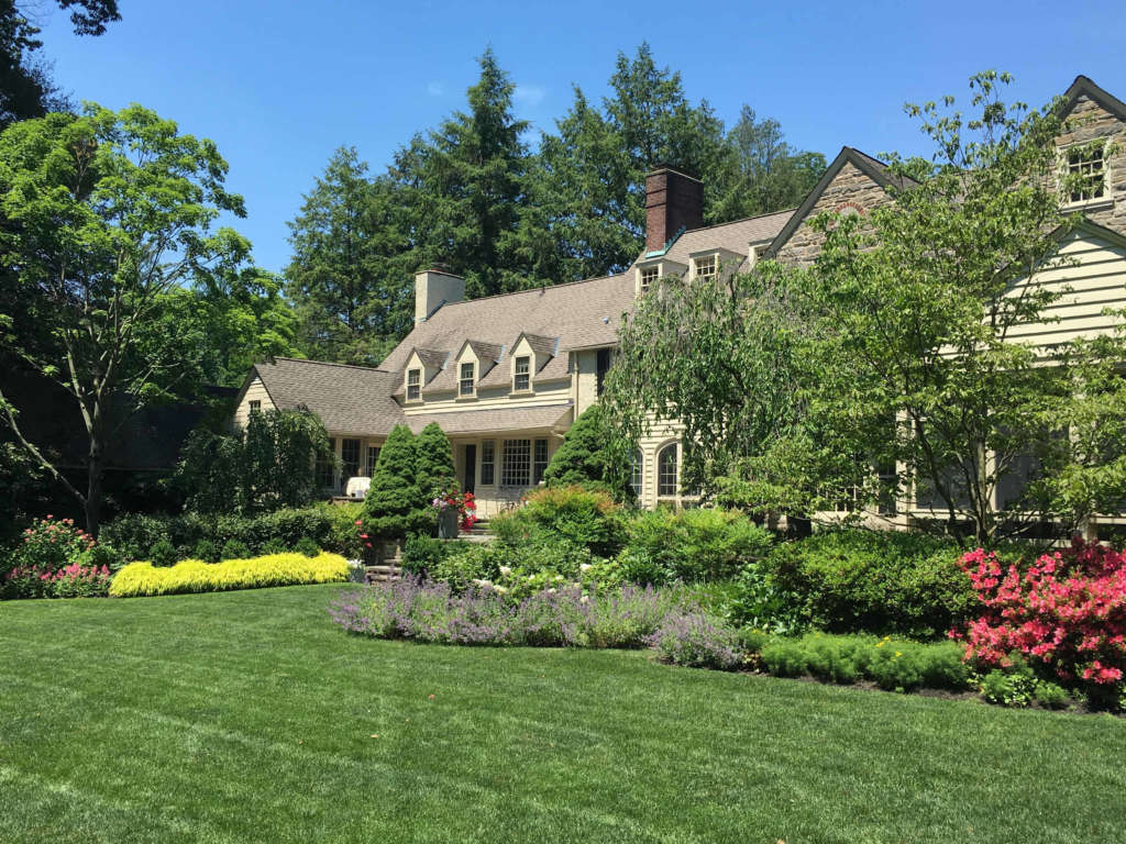 Originally designed and landscaped by J. Franklin Styer over 100 years ago.